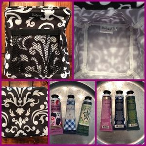 Thirty-one tote with lotion